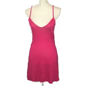 Pink/Red Swim Coverup NWT
